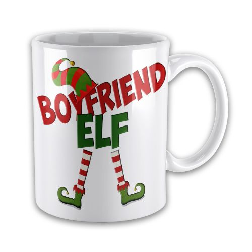 Christmas Elf Funny Novelty Gift Mug - Male Titles